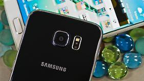 Die Rückseite des Galaxy S6 ist nicht so empfindlich wie sie aussieht.