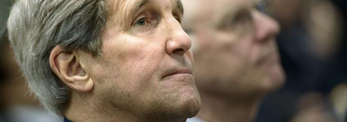 US-Außenminister John Kerry ist einer der Verhandlungsteilnehmer bei den Gesprächen mit dem Iran.