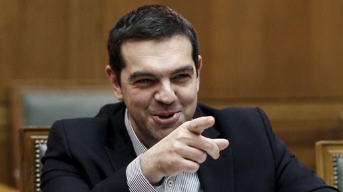 Regierungschef Alexis Tsipras fordert mehr Zusammenarbeit - und zwar von seinen Beamten mit der Troika.