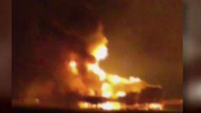 Amateur filmt Flammeninferno: Ölplattform explodiert im Golf von Mexiko