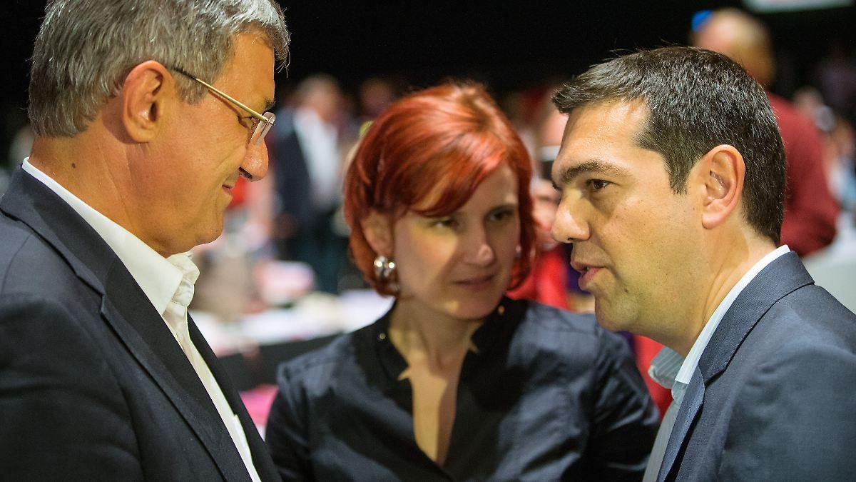 Linke verteidigen Tsipras' Russland-Besuch