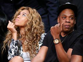 Geschäftstüchtiges Paar: Beyoncé (r.) und ihr Ehemann Jay-Z (Archivbild).