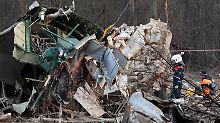 Flugzeugabsturz von Smolensk: War noch eine dritte Person im Cockpit?