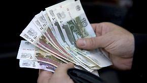 Russische Währung erholt sich: Rubel wird für mutige Anleger interessant