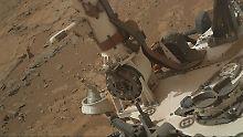 Für Leben wohl zu wenig: Marsrover findet Indizien für flüssiges Wasser