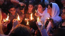 Jesiden feiern im Irak ihr Neujahrsfest. Der islamische Staat hat die alte Kultur der Jesiden in der Region bereits großteils ausgelöscht.
