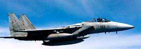 Fast 1000 Mal mussten japanische Jets in den letzten zwölf Monaten aufsteigen.