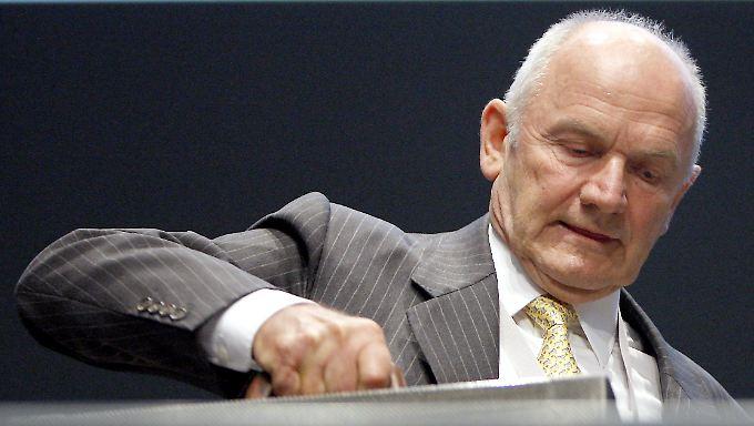 Showdown im Machtkampf bei VW? Ferdinand Piëch ist bereit.