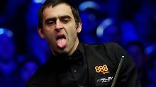 "Ronnie O'Sullivan vs. Judd Trump: ""The Rocket"" adelt Snooker-Wunderkind"