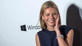 Promi-News des Tages: Gwyneth Paltrow scheitert bei Sozialhilfe-Experiment