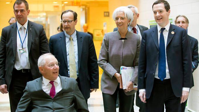 Beim Frühjahrstreffen des Internationalen Währungsfond wurden Risikofaktoren für die Weltwirtschaft besprochen.