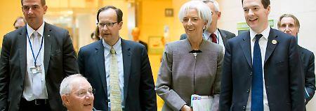 Trotz guter Anzeichen: IWF: Konjunkur steht auf wackeligen Beinen