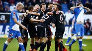 Nach der 1:3-Pleite gegen den FC Porto tat der Sieg der Bayern-Seele offenbar sehr gut.