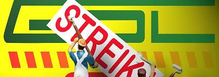 GDL lässt die Muskeln spielen: Lokführer treten in den Streik