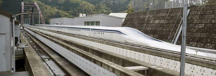 Magische Grenze durchbrochen: Japanische Magnetbahn rast zum Weltrekord
