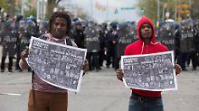 Keine Anklage gegen Polizisten: Der Fall Freddie Gray kommt zu den Akten