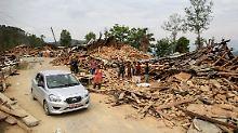 250 Vermisste nach Lawine in Nepal: Acht Millionen von Erdbeben betroffen