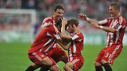Kontrollieren, abwarten, müllern: FC Bayern trifft Rom spät ins Mark