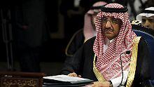 Erstmals kein Staatsgründer-Sohn: Saudischer König wagt Generationswechsel