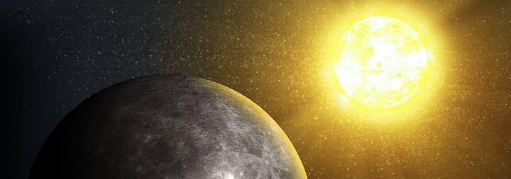Kurze Jahre mit viel Sonne: Merkur, der flinke Planet