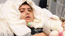 Die damals 15-jährige Malala Yousafzay wurde nach dem Anschlag nach Großbritannien gebracht und im Queen Elizabeth Hospital in Birmingham behandelt.