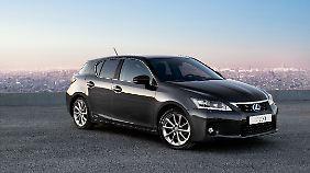 Den Lexus CT 200h gibt es nur mit Hybridantrieb.