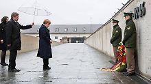 70 Jahre nach Kriegsende: Merkel warnt vor neuem Antisemitismus