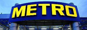 Zukäufe geplant: Metro liegt trotz Umsatzminus im Plan