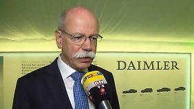 """Daimler-Chef Zetsche im Interview: E-Mobilität: """"Kunden brauchen weitere Anreize"""""""
