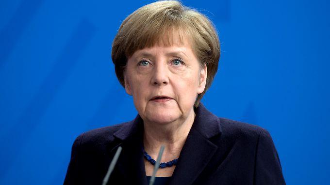 """Würde """"gern"""" vor dem NSA-Untersuchungsausschuss aussagen: Bundeskanzlerin Angela Merkel."""
