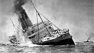 Größte Schiffstragödie im Ersten Weltkrieg: Der Untergang der Lusitania