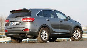 Mit der dritten Generation ist Kia's Spitzen-SUV gehörig gewachsen.
