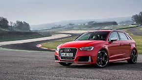 Die starke Fünf: Ring frei für den Audi RS3 Sportback