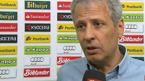 """O-Töne Gladbach gegen Leverkusen: """"Fünf Punkte Vorsprung sind angenehm, aber gefährlich"""""""