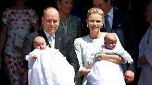 Royale Taufe in Monaco: Zwillinge bekommen göttlichen Segen