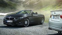 Mit dem D4 Cabrio hat sich Alpina jetzt auch an einen offenen BMW mit Dieselaggregat gewagt.