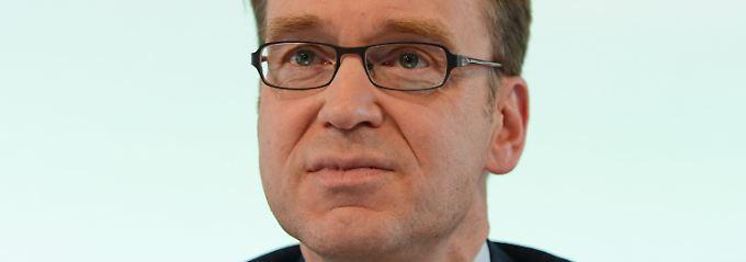 Jens Weidmann sieht die Politik am Zug.