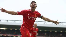 Lebte lange für den FC Liverpool: Steven Gerrard.