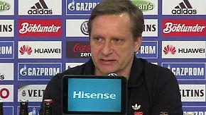 """Schalke tief in der Krise: """"Da müssen wir den Stahlhelm aufsetzen und durch"""""""