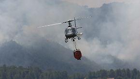Tote durch Hitzewelle in Spanien: Bauer entfacht großen Waldbrand nahe Valencia