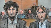 """""""Er wird zur Hölle fahren"""": Boston-Bomber erhält die Todesstrafe"""