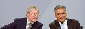 """""""Mission ist noch nicht zu Ende"""": Deutsche-Bank-Chefs schließen Rücktritt aus"""