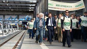 """GDL streikt erneut um Existenz: """"Man schlichtet nicht über Grundrechte"""""""