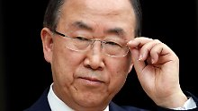 Kurzfristig ausgeladen: UN-Generalsekretär Ban Ki Moon (Archivbild).