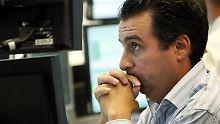 Wall Street schließt im Minus: Verunsicherung frisst Dax-Gewinne auf