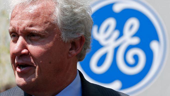 """GE-Chef Jeff Immelt vermeldet """"besonders volatile"""" erste Wochen im neuen Jahr."""