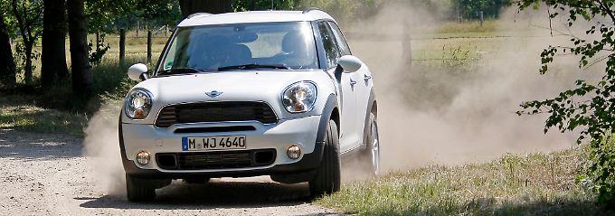 Eins ist natürlich Fakt: Auch mit Allradantrieb ist der Mini Countryman kein Geländewagen.