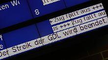 """GDL und Bahn lassen schlichten: """"Die Kuh ist noch nicht vom Gleis"""""""