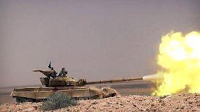 Auf Vormarsch in Irak und Syrien: IS erobert letzten offen Grenzübergang