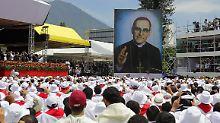 Óscar Romero seliggesprochen: Ein Toter soll Versöhnung bringen